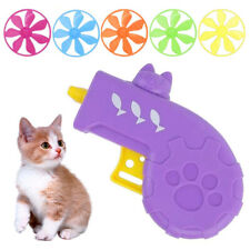 Colorful Flying Saucer Cat Toy Cat Tracks Down Toy Set Flying Disc Toy for Pet
