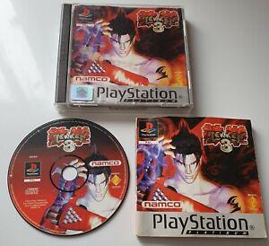Tekken 3 (Sony PlayStation 1, 1998) PAL, WORKING