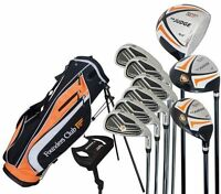 Founders Judge Mens Complete Golf Set, Graphite/Steel Regular Flex Shafts RH