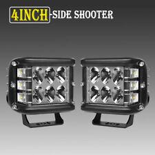 "2PCS 4""INCH 276W LED Light Bar Spot Flood Pods Lights Off-Road Tractor 4WD FOG"