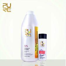 Hair Straightening Treatment 12% Pure Brazilian Keratin Blow Dry 1000ml 33.8 oz.