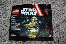 "LEGO Star Wars The Force Awakens C-3P0 Minifigure Polybag Toys""R""Us 5002948"