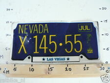 STICKER,DECAL NUMBERPLATE NEVADA X145-55 LAS VEGAS IS DAMAGED LARGE CAR