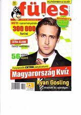 RYAN   GOSLING       Hungarian magazine  2016