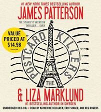 The Postcard Killers by James Patterson and Liza Marklund 2011 6 CD's Unabridged