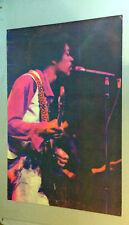 Jimi Hendrix vintage blacklight poster Gemini Rising Garcia Psychedelic 1970