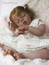 ARIANNA ASLEEP TODDLER KIT BLANK VINYL PARTS TO MAKE REBORN BABY-NOT COMPLETED