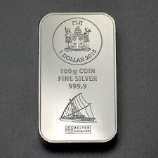 Fiji Argor Heraeus 100 Gramm Silberbarren Münzbarren 999 Silber