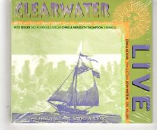 (HK113) Clearwater, Live, 24 tracks various artists - 2001 Sealed CD
