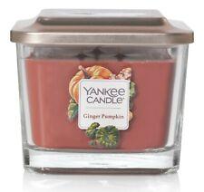 Yankee Candle Ginger Pumpkin Elevation Collection w/Platform Lid - Med 3-Wick