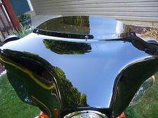 """4"""" Black Windshield fits 96-13 Harley Street & ElectraGlide and UltraClassic"""