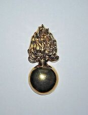 Ordnance Flaming Bomb Brass Hat Pin - Civil War - FREE SHIPPING!