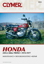 Clymer Repair Service Shop Manual Vintage Honda CB250/350 G CB350 CJ360 CL360