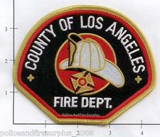 California - Los Angeles County CA Fire Dept Patch