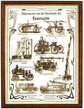 Impressionen aus der Geschichte der Feuerwehr 30x40cm