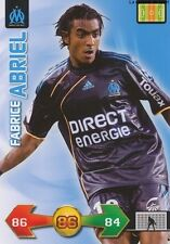 FABRICE ABRIEL # FRANCE MARSEILLE OM CARD CARTE PANINI ADRENALYN FOOT 2010