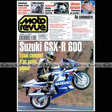 MOTO REVUE N°3446 SPEEDWAY BIMOTA YB9 SR BUELL X1 SUZUKI GSXR 600 MOTOGP 2000