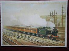 POSTCARD GREAT NORTHERN RAILWAY - SUBURBAN TRAIN
