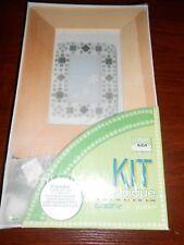 kit mosaïque cadre photo vert - sous blister