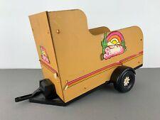 MATTEL INC BARBIE Made in France 70s Vintage Pferdeanhänger Horse Box Trailer