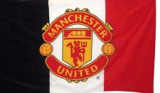 More details for manchester united official tri flag new in packets
