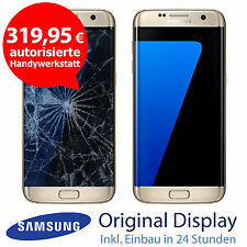 Original Samsung S7 Edge G935F LCD Display Touchscreen Reparatur Gold