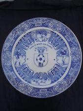 Plat coupe du monde 1998 France publicité pâté Grand Mère faïence delfts blauw