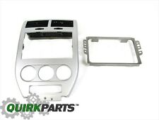 08-10 Jeep Compass Patriot Navigation Radio Instrument Bezel w/Bracket MOPAR OEM
