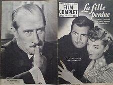 """FILM COMPLET 1953 N 430 """" LA FILLE PERDUE """" avec GERARD LANDRY et CLAUDINE DUPUY"""