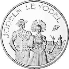 Schweiz 20 Franken Jodeln 2017 Silbermünze Stempelglanz in Original Folie