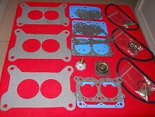 Holley/Mopar Carb Rebuild Kit For Six- Pac - Three Kits