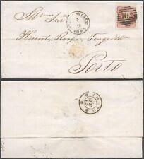 Portugal 1865 - Cover Vianna to Porto D2