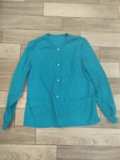 Cherokee Luxe Scrub Jacket Women's Size Small Style Number 1330 Color Teav
