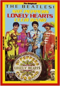 BEATLES - SGT PEPPERS - PROMO POSTER - FREE POSTAGE