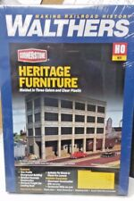 Heritage Furniture Factory Walthers Model Railroad building kit 933-3164