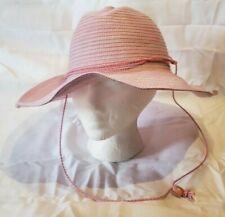 Wallaroo Hat Company Women's Pink Floppy Packable Chin Strap Jillaroo Polyester