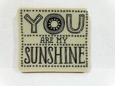 Stampin Up YOU ARE MY SUNSHINE stamp single clear mount