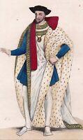 Henri II Roi de France Duc de Bretagne Valois d'Angoulême Catherine de Médicis