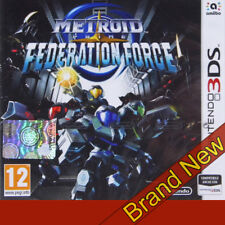 Metroid Prime Föderation Force-Nintendo 3DS ~ 12+ RGP ~ NAGELNEU & OVP!
