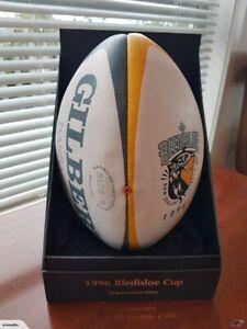 All Blacks vs Wallabies 1996 Bledisloe Cup Signed Rugby Ball + CofA