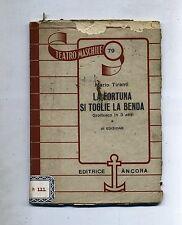 Mario Tiranti # LA FORTUNA SI TOGLIE LA BENDA # Editrice Ancora