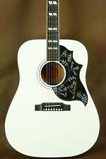 Gibson Hummingbird Alpine White Acoustic Guitar Rare