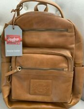 Rawlings Genuine Leather Medium Backpack RS10057-TAN NWT