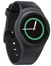 Samsung Galaxy Gear S2 42mm Stainless Steel Case Black Classic Buckle SM-R7200