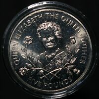 1995 Guernsey Elizabeth II 'Queen Mother' Five Pounds | Cupro-Nickel | KM Coins