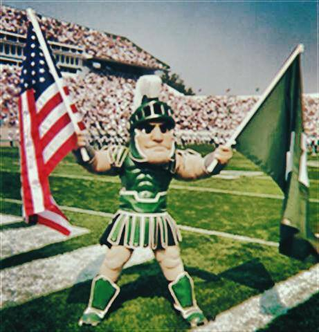 Sparty Trading Cards