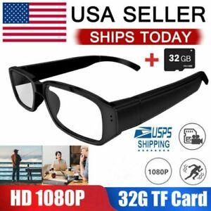 HD 1080P Hidden Sunglasses Spy Camera Audio Video Recorder DVRs Glasses Eyewear