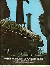 """Revue """"Musée Français du Chemin de Fer"""" N°3 -1971 - Train - Rail"""