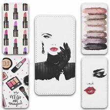 For iPhone 11 Flip Case Cover Make Up Set 1