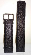 Kenneth Cole 20mm Black Leather Strap